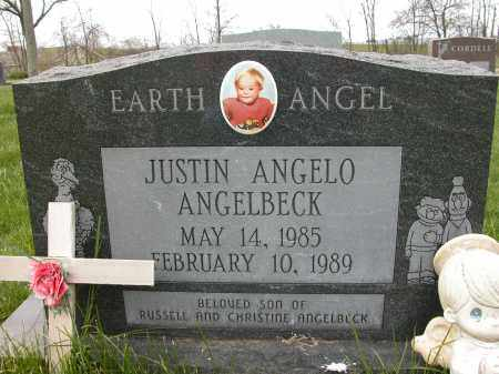 ANGELBECK, JUSTIN ANGELO - Union County, Ohio | JUSTIN ANGELO ANGELBECK - Ohio Gravestone Photos