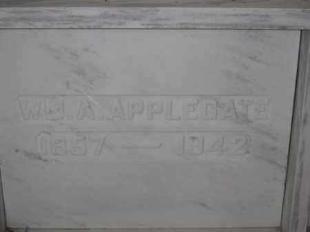 APPLEGATE, WILLIAM A. - Union County, Ohio | WILLIAM A. APPLEGATE - Ohio Gravestone Photos