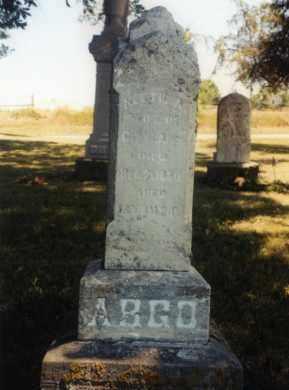 ARGO, HETTIE A. - Union County, Ohio | HETTIE A. ARGO - Ohio Gravestone Photos
