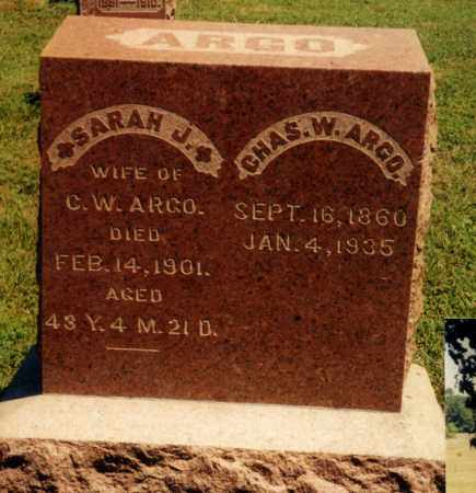 ARGO, CHARLES W. - Union County, Ohio | CHARLES W. ARGO - Ohio Gravestone Photos