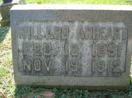 ARHEART, WILLARD - Union County, Ohio   WILLARD ARHEART - Ohio Gravestone Photos