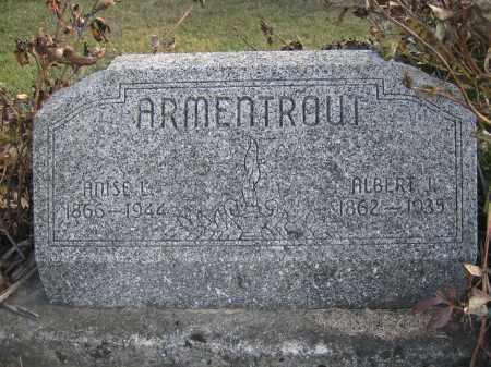 ARMENTROUT, ALBERT J. - Union County, Ohio   ALBERT J. ARMENTROUT - Ohio Gravestone Photos