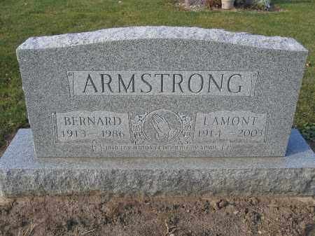 ARMSTRONG, BERNARD - Union County, Ohio | BERNARD ARMSTRONG - Ohio Gravestone Photos