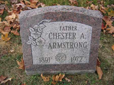 ARMSTRONG, CHESTER A. - Union County, Ohio | CHESTER A. ARMSTRONG - Ohio Gravestone Photos