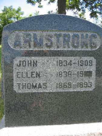 ARMSTRONG, ELLEN - Union County, Ohio | ELLEN ARMSTRONG - Ohio Gravestone Photos