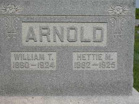 ARNOLD, WILLIAM T. - Union County, Ohio | WILLIAM T. ARNOLD - Ohio Gravestone Photos