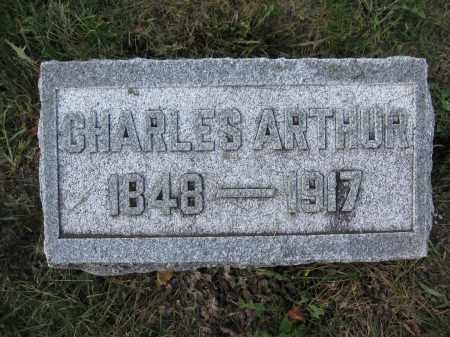 ARTHUR, CHARLES - Union County, Ohio | CHARLES ARTHUR - Ohio Gravestone Photos