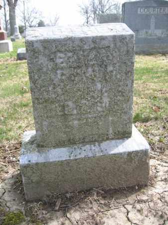 ARTHUR, ELIZA - Union County, Ohio | ELIZA ARTHUR - Ohio Gravestone Photos