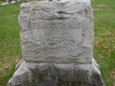 ARTHUR, FRANCES THOMAS - Union County, Ohio | FRANCES THOMAS ARTHUR - Ohio Gravestone Photos