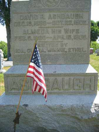 ASHBAUGH, ALMEDA - Union County, Ohio | ALMEDA ASHBAUGH - Ohio Gravestone Photos