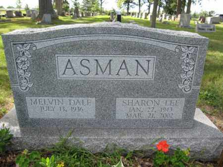 ASMAN, MELVIN DALE - Union County, Ohio | MELVIN DALE ASMAN - Ohio Gravestone Photos