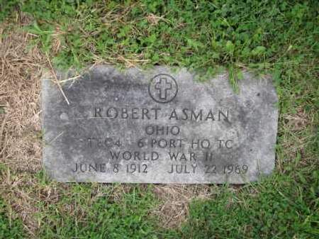 ASMAN, ROBERT - Union County, Ohio | ROBERT ASMAN - Ohio Gravestone Photos