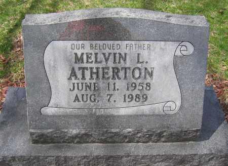 ATHERTON, MELVIN L. - Union County, Ohio | MELVIN L. ATHERTON - Ohio Gravestone Photos