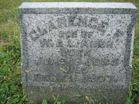 AUER, CLARENCE - Union County, Ohio | CLARENCE AUER - Ohio Gravestone Photos