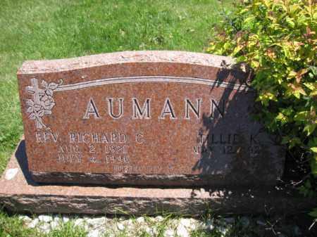 AUMANN, RICHARD C. - Union County, Ohio | RICHARD C. AUMANN - Ohio Gravestone Photos