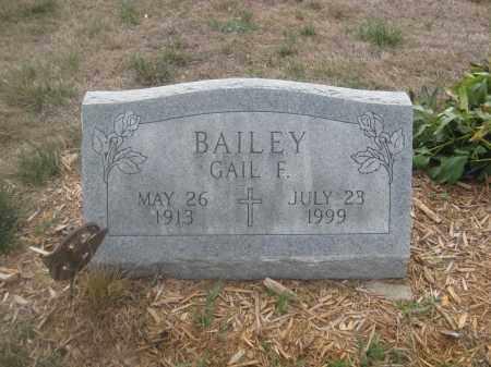 BAILEY, GAIL F. - Union County, Ohio   GAIL F. BAILEY - Ohio Gravestone Photos