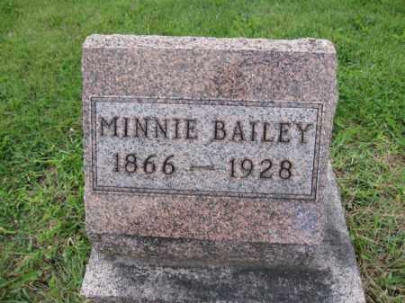 BAILEY, MINNIE - Union County, Ohio   MINNIE BAILEY - Ohio Gravestone Photos