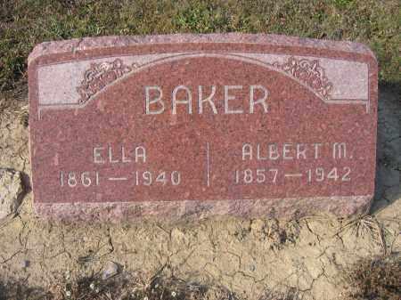 BAKER, ALBERT M. - Union County, Ohio   ALBERT M. BAKER - Ohio Gravestone Photos