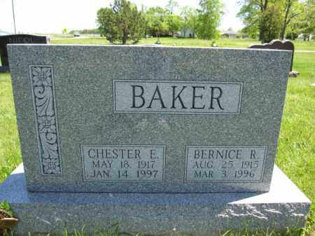 BAKER, BERNICE R. - Union County, Ohio | BERNICE R. BAKER - Ohio Gravestone Photos