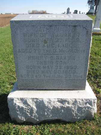 BAKER, CATHERINE - Union County, Ohio | CATHERINE BAKER - Ohio Gravestone Photos