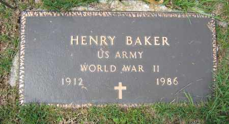 BAKER, HENRY - Union County, Ohio | HENRY BAKER - Ohio Gravestone Photos