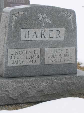 BAKER, LINCOLN E. - Union County, Ohio | LINCOLN E. BAKER - Ohio Gravestone Photos