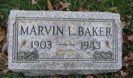 BAKER, MARVIN L. - Union County, Ohio | MARVIN L. BAKER - Ohio Gravestone Photos