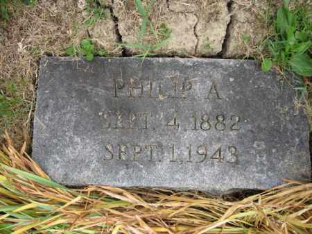 BAKER, PHILIP A. - Union County, Ohio | PHILIP A. BAKER - Ohio Gravestone Photos