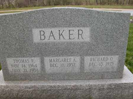 BAKER, THOMAS R. - Union County, Ohio | THOMAS R. BAKER - Ohio Gravestone Photos