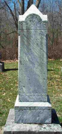 BAKER, MARTHA - Union County, Ohio | MARTHA BAKER - Ohio Gravestone Photos