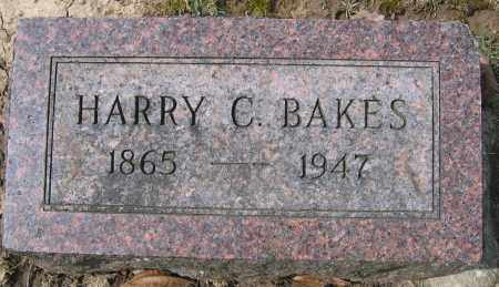 BAKES, HARRY C. - Union County, Ohio | HARRY C. BAKES - Ohio Gravestone Photos