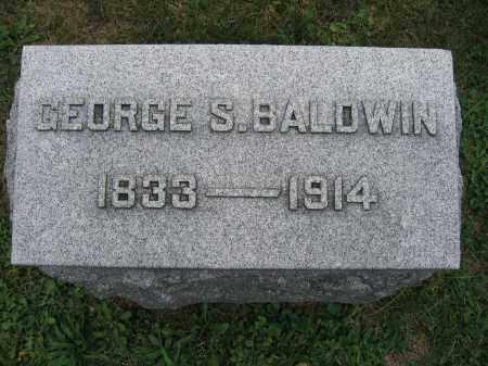 BALDWIN, GEORGE S. - Union County, Ohio | GEORGE S. BALDWIN - Ohio Gravestone Photos
