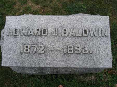 BALDWIN, HOWARD J. - Union County, Ohio   HOWARD J. BALDWIN - Ohio Gravestone Photos