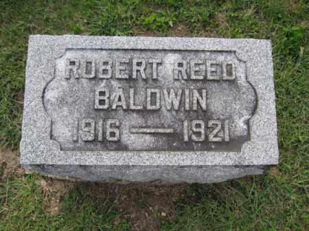BALDWIN, ROBERT REED - Union County, Ohio | ROBERT REED BALDWIN - Ohio Gravestone Photos