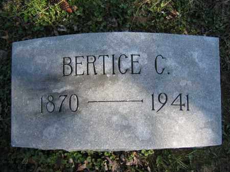 BALLINGER, BERTICE C. - Union County, Ohio | BERTICE C. BALLINGER - Ohio Gravestone Photos