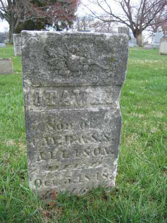 ALLISON, OTAWAY - Union County, Ohio | OTAWAY ALLISON - Ohio Gravestone Photos