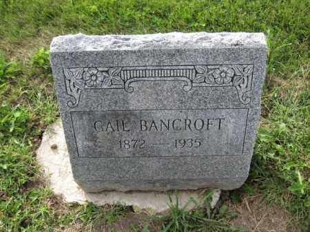 BANCROFT, GAIL - Union County, Ohio | GAIL BANCROFT - Ohio Gravestone Photos