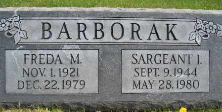 BARBORAK, SARGEANT I - Union County, Ohio | SARGEANT I BARBORAK - Ohio Gravestone Photos
