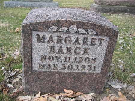 BARCK, MARGARET - Union County, Ohio   MARGARET BARCK - Ohio Gravestone Photos