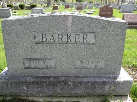BARKER, LOY M. - Union County, Ohio | LOY M. BARKER - Ohio Gravestone Photos
