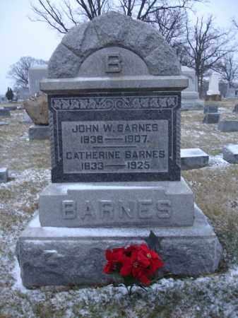 BARNES, JOHN WESLEY - Union County, Ohio | JOHN WESLEY BARNES - Ohio Gravestone Photos