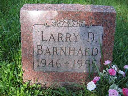 BARNHARD, LARRY D. - Union County, Ohio | LARRY D. BARNHARD - Ohio Gravestone Photos
