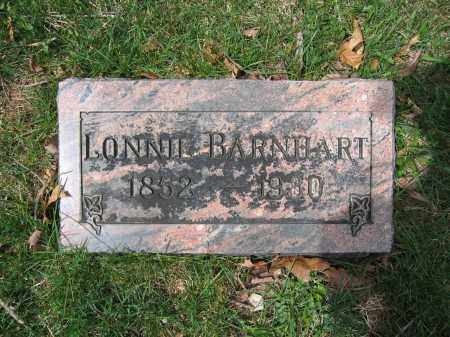 BARNHART, LONNIE - Union County, Ohio   LONNIE BARNHART - Ohio Gravestone Photos