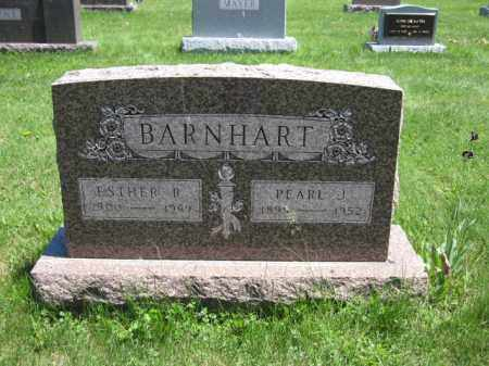 BARNHART, ESTHER R. - Union County, Ohio | ESTHER R. BARNHART - Ohio Gravestone Photos
