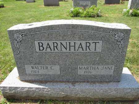 BARNHART, MARTHA JANE - Union County, Ohio | MARTHA JANE BARNHART - Ohio Gravestone Photos