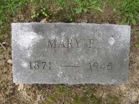 BARR, MARY F. - Union County, Ohio | MARY F. BARR - Ohio Gravestone Photos