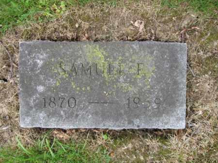 BARR, SAMUEL F. - Union County, Ohio | SAMUEL F. BARR - Ohio Gravestone Photos