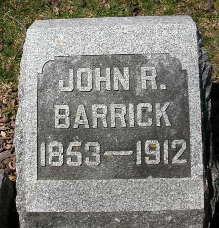 BARRICK, JOHN R. - Union County, Ohio   JOHN R. BARRICK - Ohio Gravestone Photos