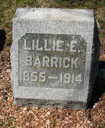 BARRICK, LILLIE E. - Union County, Ohio | LILLIE E. BARRICK - Ohio Gravestone Photos