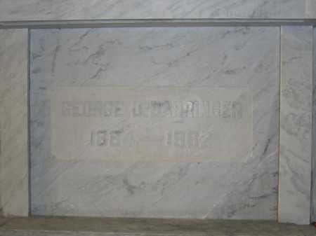 BARRINGER, GEORGE D. - Union County, Ohio | GEORGE D. BARRINGER - Ohio Gravestone Photos